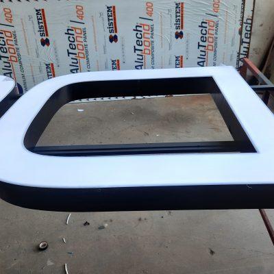Işıklı alüminyum kutu harf tabela