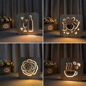 Masa Üstü Dekoratif Gece Lambası