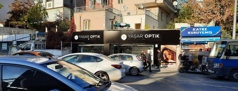 Yaşar Optik fileli Paslamaz kutu harf tabela